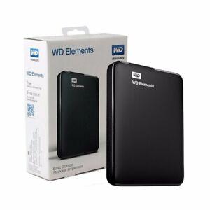 WESTERN DIGITAL ELEMENTS WD 2TB 2000GB HARD DISK ESTERNO 2,5 USB 3.0