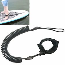 Coiled Surfboard Leash Surfing Stand Up SUP Cord Surf Paddle Board Accessories