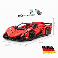 Custom Technic Diablo racecar Auto 42056 42083 42110 42099 Blöcke Bausteine MOC