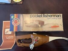 Vintage Popeil's Pocket Fisherman Spin Casting Outfit with Original Box; 1972