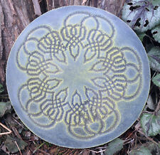 Looped Gothic Pagan Celtic mold decorative stepping stone mould