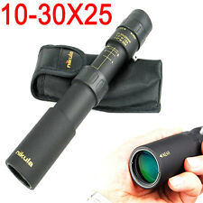 Zoomable 10-30X25 Optical Lens Monoculars Telescopes Outdoor Sports Hunting