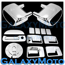 99-07 Ford Super Duty Chrome Mirror Light+4 Door Handle No KH+Tailgate+GAS Cover