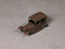 HO Scale 1923 Jordan Models, Model A Ford Sedan Rusted out.