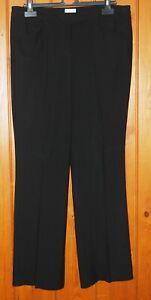 Liz Clairborne, Ladies, Black, Office, Casual, Trousers, size 12-14 Petite