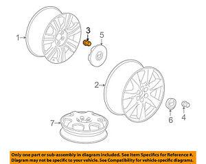 Cadillac GM OEM 10-16 SRX Wheel-Lug Nut 9598177