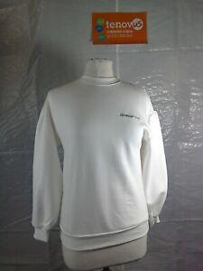 WBR38D Mint Velvet White Womankind Sweatshirt Size Extra Small