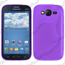 Housse Etui Coque TPU Silicone VIOLET Samsung Galaxy Star 2 Plus Advance G350E