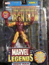 marvel legends Iron Man Tony Stark figure series 1 I toybiz Avengers
