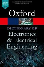 Dictionary of Electronics and Electrical Engineering JETZIG Butterfield Andrew (