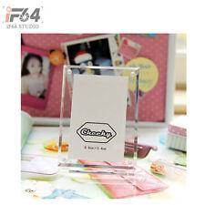 Crystal Transparent Photo Frame For Fuji Camera Instax Mini 7s 25 50 55 Instant