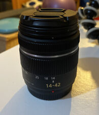 Panasonic Lumix 14-42mm Lens In Black
