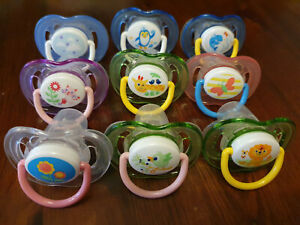 9X Philips Avent Soother 18m+ Boy
