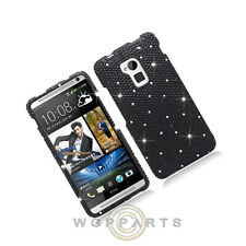 HTC One max T6 Shield Crystal Black Case Cover Shell Protector Guard Shield