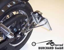 porta placa lateral Harley Davidson BOB Calle 19mm TÜV teilegut