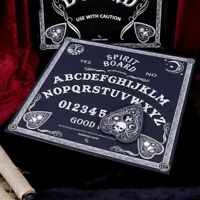 BLACK & WHITE SPIRIT BOARD 30cm Ouija Ghost Witchcraft Goth Nemesis Now FREE P+P