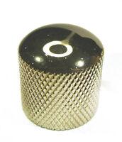 GOLD CHROME METAL CONTROL KNOB ELECTRIC GUITAR / BASS / AMP