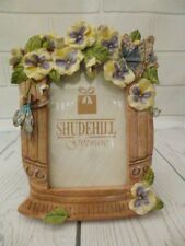 "Shudehill Giftware Photo Frame 3.5"" x 5"" Flowers Butterflies Unused Boxed"