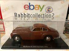 "DIE CAST "" ALFA ROMEO 6C 2500 VILLA D'ESTE (1949) "" SCALA 1/24  AUTO VINTAGE"