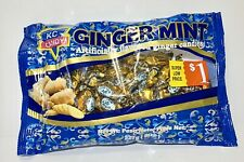 KC Ginger Mint Large 8 oz Bag Hard Candy - Soothes Nausea Migraines Crohns