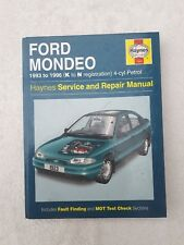 Haynes Manual Ford Mondeo 4 cyl petrol 1993-1996