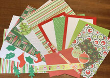 Christmas A5 Paper Craft Kit Scrapbook Card Making Merry Christmas