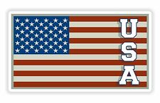 USA Flag Sticker United States for Motorcycle Car Truck Door Fridge Helmet