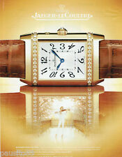 PUBLICITE ADVERTISING 115  2007  JAEGER-LECOULTRE montre coll REVERSO DUETTO-DUO