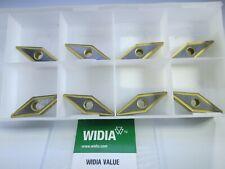 Box 8 Pcs Widia Vnmg160408 2p Tn20p Turning Lathe Machinist Carbide Inserts