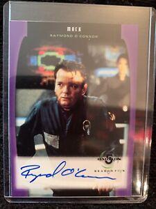 Babylon 5 Season Five Autograph A04 Mack, Raymond O'Conner