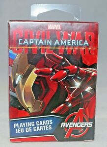 Aquarius - Captain America - Civil War (Iron Man)  Playing Cards (New)