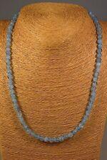 Aquamarin Kette Collier 122,00ct.! Classic Edelstein Schmuck Heilstein Halskette