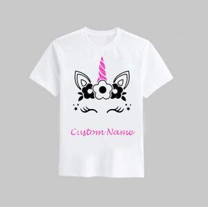 Girl Unicorn Custom Shirt