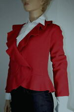 Jones of New York Womens Red Wool Jacket Small -NWT-$129