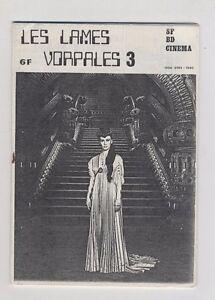 (162B) Les lames vorpales N°3 SF BD Cinéma