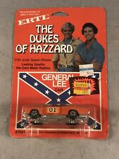 VINTAGE 1981 ERTL THE DUKES OF HAZZARD GENERAL LEE CAR 1/64 SCALE FACTORY SEALED