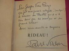 Paul Vialar / Bel envoi de l'auteur à Georges Van Farys CHRONIQUE FRANÇAISE