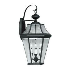 Livex Lighting Georgetown Outdoor Wall Lantern in Black - 2361-04