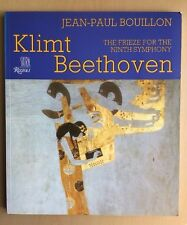 Klimt Beethoven THE FRIEZE FOR THE NINTH SYMPHONY by Jean-Paul Bouillon in VGC