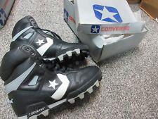 Vintage Starforce 19597 Converse black white field sports shoes sz 9.5 New