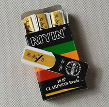 Clarinet Reeds Strength 3 , 10-pack NEW