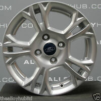 "GENUINE FORD FIESTA  MK6 15"" INCH 5 TWIN SPOKE SINGLE ALLOY WHEEL X1 6J ET37.5"