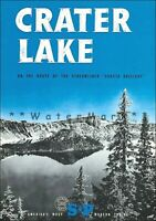 Crater Lake Oregon 1950 Southern Pacific RR Vintage Poster Print Retro Style Art