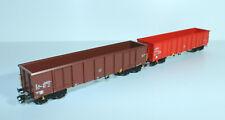 Märklin 47198 Set - 2 Güterwagen Eanos der Belgischen Staatsbahnen (SNCB/NMBS)