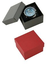 12 Pack of Two Piece Pinstripe Pattern Watch Bangle Bracelet Jewellery Boxes
