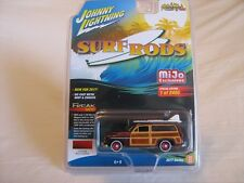 2017 Johnny Lightning Surf Rods M&J Toys Exclusive '50 Merc Woody Wagon 1/2400