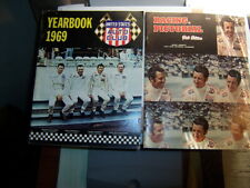 1969 U.S  AUTO CLUB YEARBOOK Andretti and Racing pictorial 1969 super book 2 pc