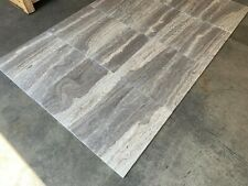Silver Travertine Tiles, Silver Vein Floor Wall, Travertine Onyx, Marble, SAMPLE