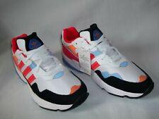 Men,s Adidas Originals Yung 96 Running Shoes Sz 11.5- White Black Blue -Ee4152