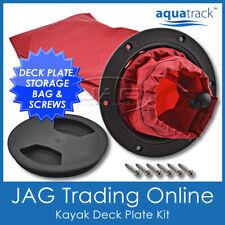 Kayak Deck Plate & Storage Bag - AquaTrack Inspection Port Kit -Canoe/Boat/Hatch